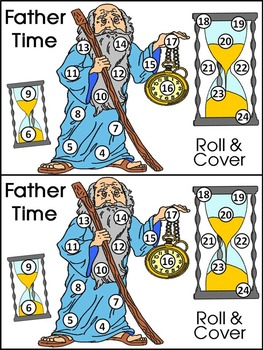 new years math activities father time new years roll cover math activity