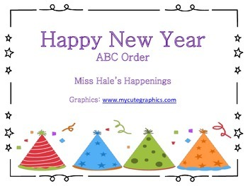 New Year ABC Order