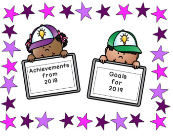 New Year Achievements and Goals Book
