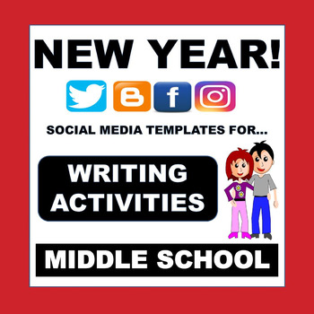 NEW YEAR 2017, SOCIAL MEDIA, FOR JANUARY - No  Prep, Middle School!