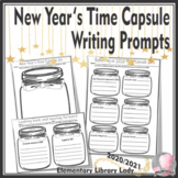 New Year Activities 2021 Time Capsule Writing Prompts