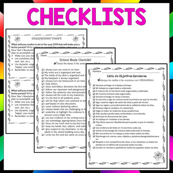 Goal Setting New Year Activities