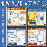 New Year Activities Bundle - Resolutions and Goals