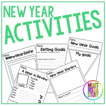 New Year Activities ( Dates included 2019-2025 )