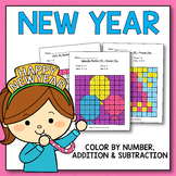 New Year Activities for Kindergarten - New Year Day Math W