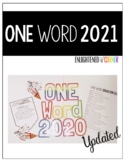 """New Year Activity - One Word """"2020"""""""