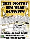 New Year Activity Set: Digital (Google Slides) and Non-Dig