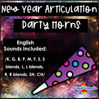 New Year Articulation Party Horns!!!
