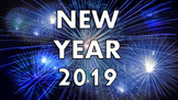 New Year Assembly 2018 Presentation – resolutions, New Year's Eve/ Day, Quiz