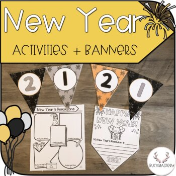 New Year Banner + Bunting