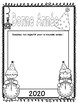 New Year Bonne Annee french writing activity
