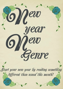 New Year Book Display Sign