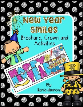 New Year Brochure, Crown, and Activities {Updated for 2018!}