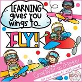 New Year Bulletin Board (Airplane Theme)