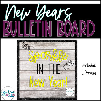 New Year Bulletin Board Template