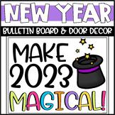New Year Bulletin Board or Door Decoration