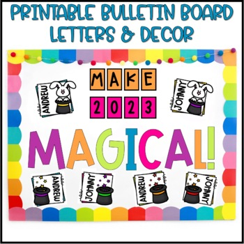 New Year Bulletin Board or Door Decoration by Briana ...
