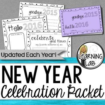 New Year Celebration Packet