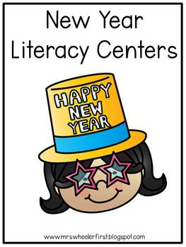 First Grade Centers: New Years
