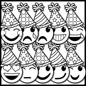 new year emoji clip art