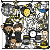 New Year Clipart (New Year's Eve Clipart)
