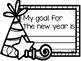 New Year Clock and Writing Craftivity