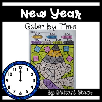 New Year Color by Code- Time