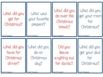 New Year Conversation Starters- Freebie