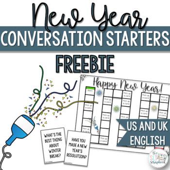New Year Conversation Starters- Freebie