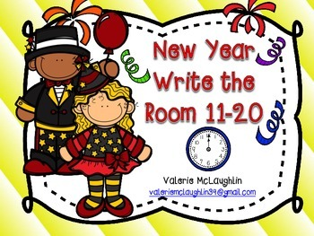 New Year Count and Write the Room
