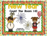 New Year Count the Room 1-10
