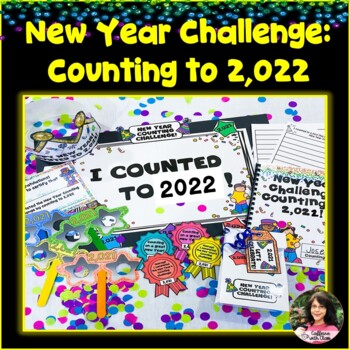 New Years Activities 2019: Counting to 2,019 with Hundreds Charts!