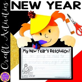 New Year Craft Activity