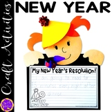 New Years Resolution Craft 2022 | Happy New Year!