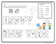 New Year Dice Game Color Sheet