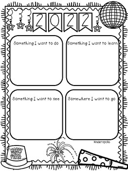 New Year: Differentiated Writing