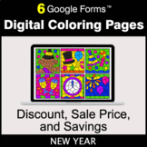 New Year: Discount, Sale Price, Savings - Google Forms | D