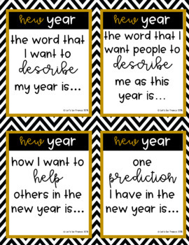 New Year Discussion Starters