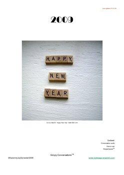 New Year ESL/EFL conversation lesson