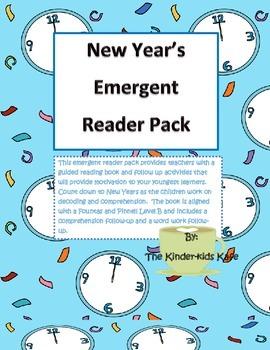 New Year Emergent Reader Pack