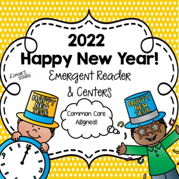 New Year Emergent Reader and Centers