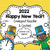 New Years 2018 Emergent Reader and Centers