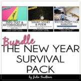 New Year Activities, English Lessons BUNDLE for Teens