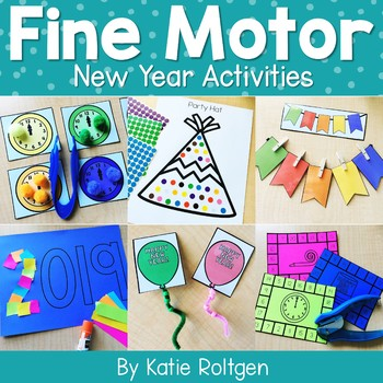New Year Fine Motor Activities