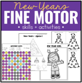 New Year Fine Motor Practice, Skills and Activities