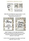 New Year Free Printable