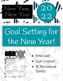 New Year Goal Setting!!! - 2021 - Motivational Quotes Included