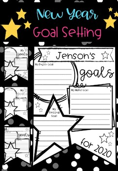 New Year Goal Setting