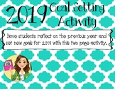 New Year Goal Setting Activity