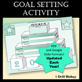 New Years 2018 Goal Setting Activity